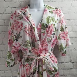Show Me Your Mumu Floral Print Robe